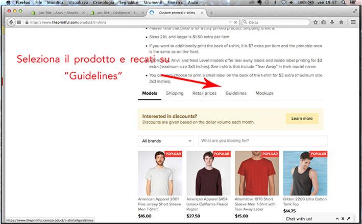 Come creare mock up t-shirt per la tua linea di abbigliamento: