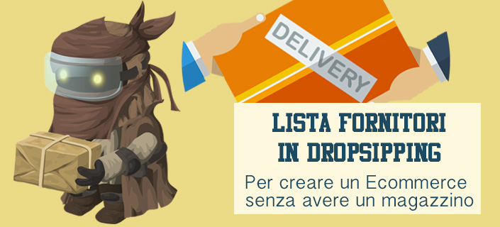 Lista fornitori dropshipping
