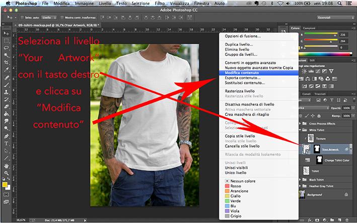 Tshirt personalizzate per creare una linea di abbigliamento