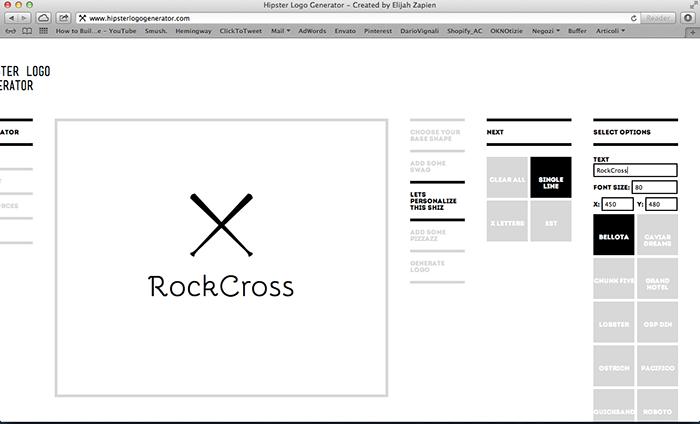 cercare un logo per fare un volantino con photoshop