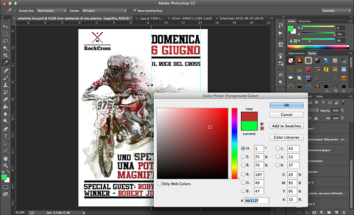 come fare un volantino con photoshop