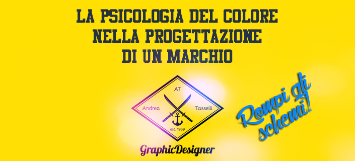 La psicologia del colore per ottenere un brand vincente