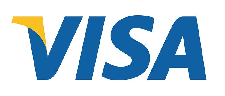 La psicologia del colore marchio Visa