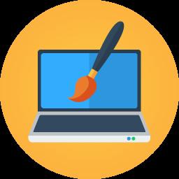 laptop-brush