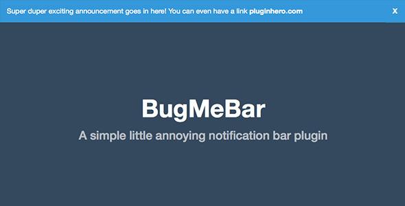 Bug me bar