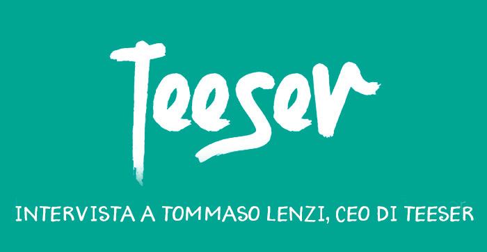 Teeser: la prima App per creare una linea di T-shirt